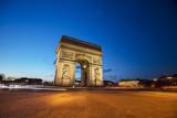 Paryż Francja Łuk Triumfalny