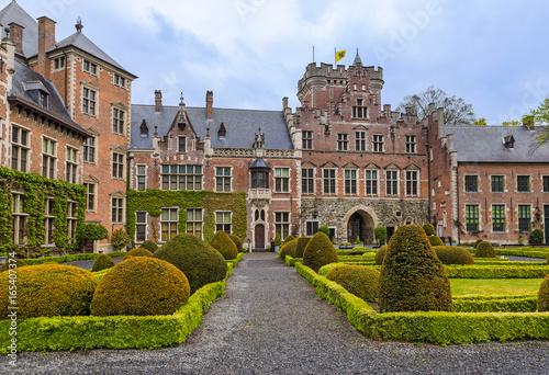 Gaasbeek Castle in Brussels Belgium