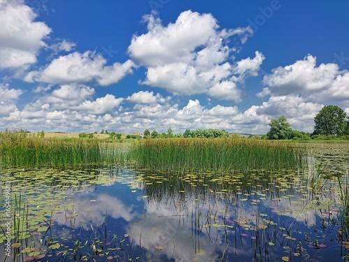 Zdjęcia na płótnie, fototapety, obrazy : Jezioro na Warmii