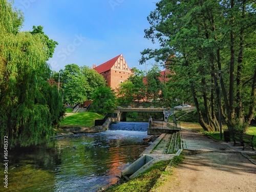 Park Podzamcze Olsztyn