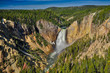 Lower Falls in Grand Canyon of Yellowstone - 165419763