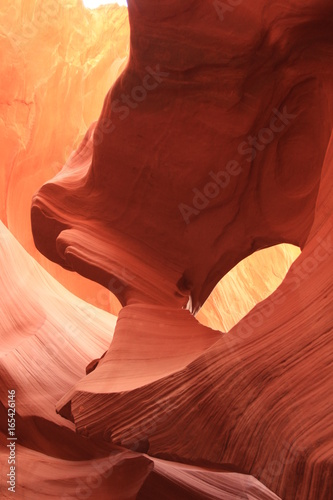 Fotobehang Rood paars Antelope Canyons