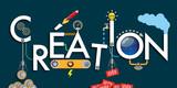 création - idée - imagination - invention - machine - concept - solution - créatif - 165437950