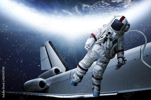Foto op Canvas spaceman