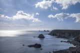 Bretonische Küste in Frankreich