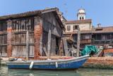 Oldest boatyard in Venice, Italy