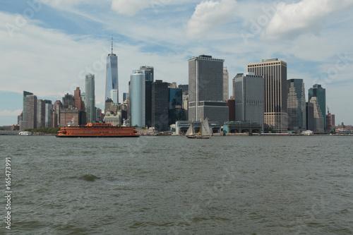 The Manhattan Skyline Canvas Print