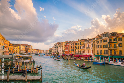 Foto op Canvas Venetie Grand Canal in Venice, Italy