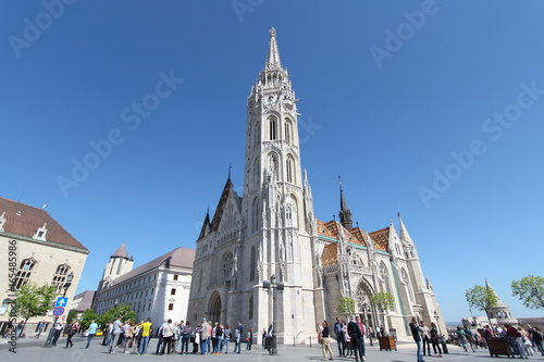 Church of St. Matthias in Budapest