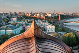 Moscow Kremlin at sunset - 165487318