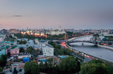Moscow Kremlin at sunset - 165487360