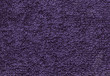 Terrycloth violet, closeup fabric texture background. High resolution