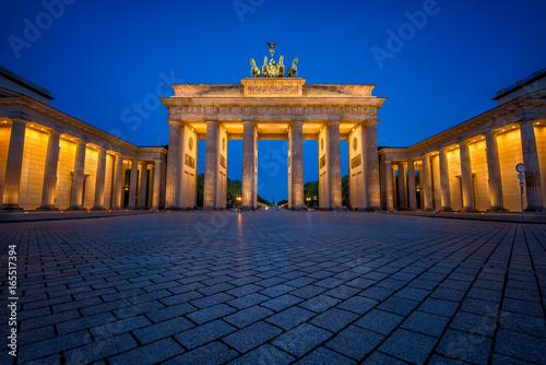 Deurstickers Berlijn Brandenburg Gate, Berlin