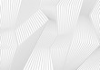 Abstract grey lines refraction vector background