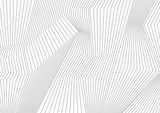 Abstract grey lines refraction vector background - 165538332