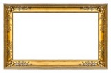 Golden frame for paintings, mirrors or photos - 165568961