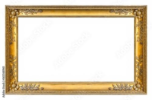 Złota ramka do obrazów, luster lub zdjęć