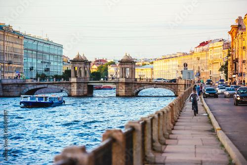 Spoed canvasdoek 2cm dik Venetie St Petersburg