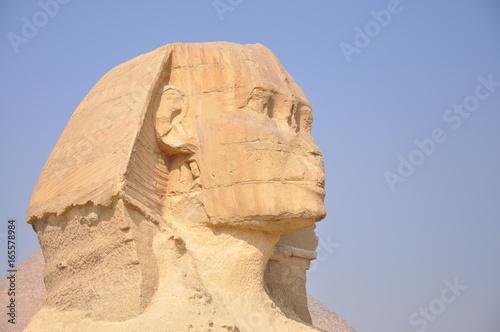 Sphinx de Gizeh Egypte