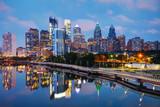 Philadelphia skyline...
