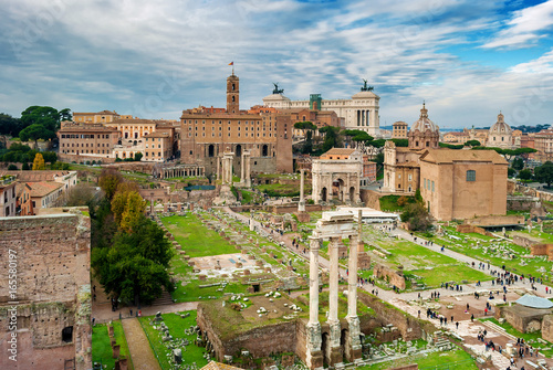 Poster Rovine di Roma