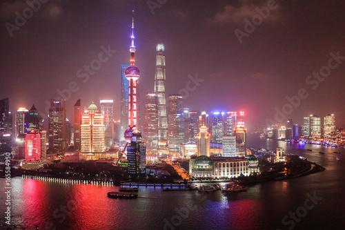 Tuinposter Shanghai Shanghai