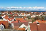 Swedish archipelago village on Swedens west-coast. - 165588149