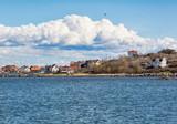 Village on island in the Swedish westcoast. - 165603922