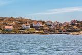 Idyllic fishing village in Gothenburg archipelago. - 165605394