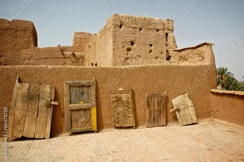 Foto op Plexiglas Marokko Traditional doors Morocco