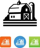 Farm Icon - Illustration - 165690565