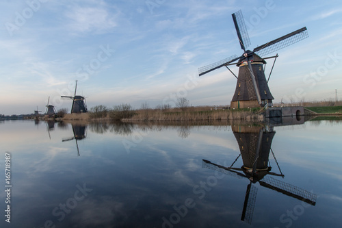 Plakát Kinderdijk Windmills