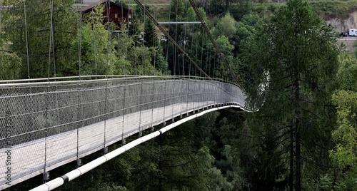 Goms bridge--- pont suspendu valaisan