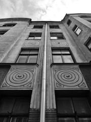 Fassade eines Jugendstilhauses