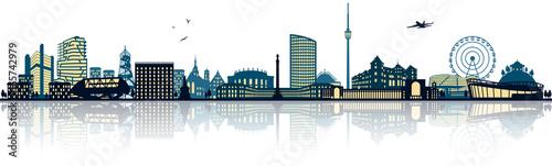Stuttgart Skyline - 165742979
