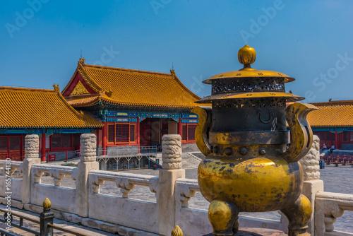 Peking Verbotene Stadt Detailansicht