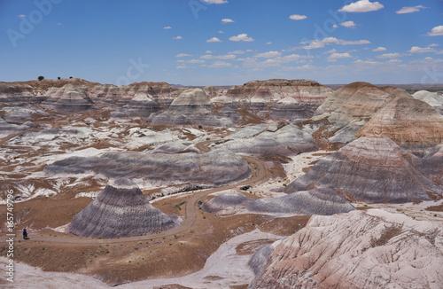 Foto op Canvas Cappuccino Painted Desert Blue Mesa