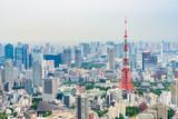 都心の風景と東京タワー