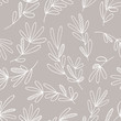 kbecca_vector_botanical_leaves_hand_drawn_pattern_seamless_tile