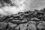 Rocky Mountain Rocks and Sky