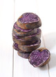 Raw purple potato