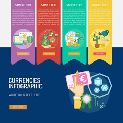Infographic Currencies