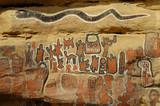 Peintures sur pierre au Mali