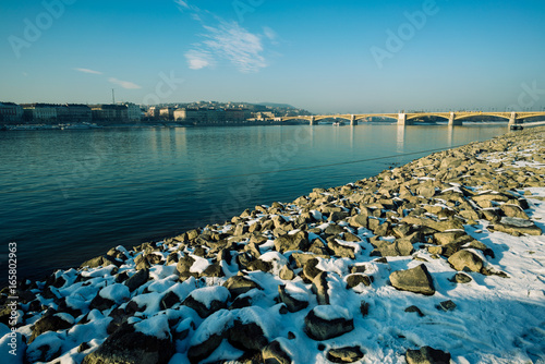 Snow stones Budapest