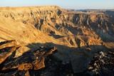 Fish River Canyon o zachodzie słońca, Namibia