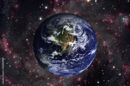 Plexiglas Solar System - Planet Earth. Elements of this image furnished by NASA.
