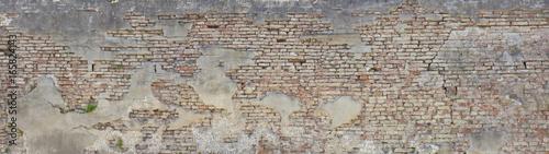 Foto op Plexiglas Baksteen muur alte Ziegelmauer