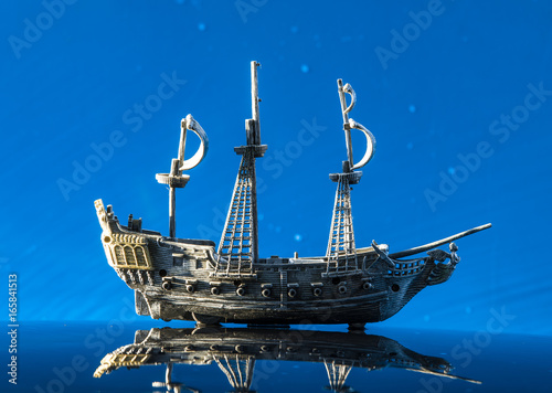 Model of a pirate ship