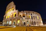 Koloseum w nocy