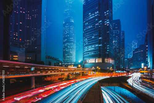 Hong Kong City Night Scenes